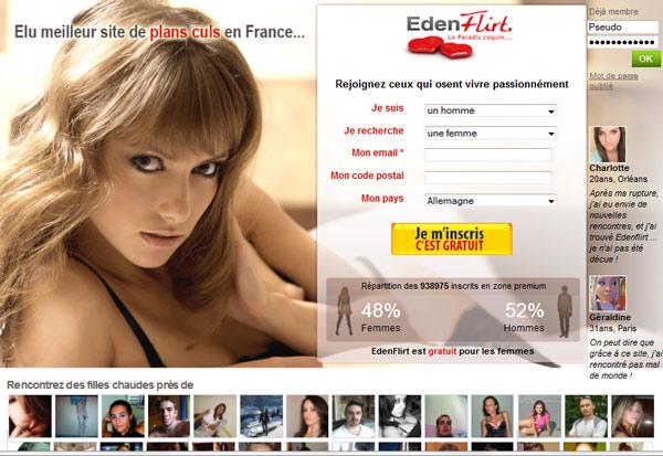 EdenFlirt Comparatif, Avis & Arnaque